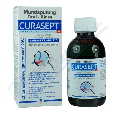 CURAPROX CURASEPT ADS 220 ústní voda 200ml 0.20%