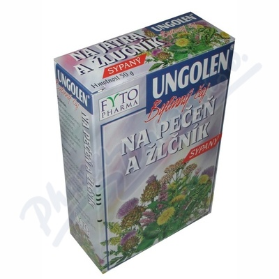 Ungolen Bylinný čaj játra+žlučník 50g Fytopharma