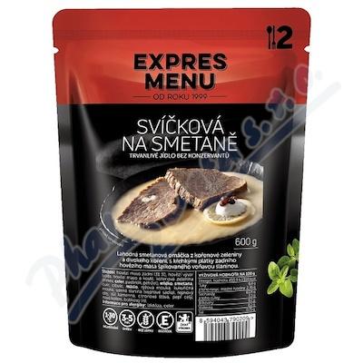 EXPRES MENU Svíčková na smetaně 2 porce