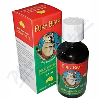 Euky Bear eukalyptový olej 50ml Sleva 10 % platí na e-shopu do vyprodání zásob
