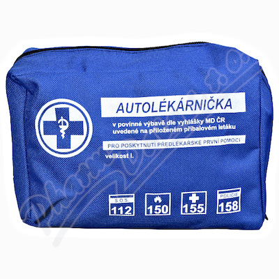 Autolékárnička textil vyhl.č.341/2014 Steriwund