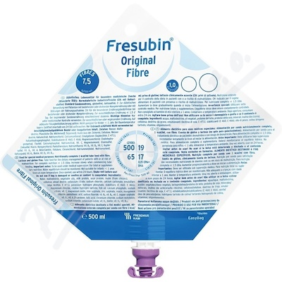 FRESUBIN ORIGINAL FIBRE perorální SOL 15X500ML